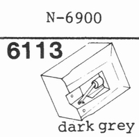 YAMAHA N-6900 DARK GREY Stylus, diamond, stereo, original