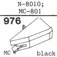 YAMAHA N-8010, MC-108 Stylus, diamond, stereo, original