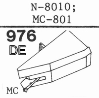 YAMAHA N-8010, MC-801 Stylus, diamond, elliptical, original