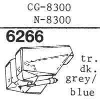 YAMAHA N-8300 TR. DARK BLUE Stylus, diamond, stereo