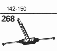 ZENITH 142-150 Stylus, sapphire normal (78rpm) + sapphire st