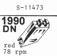ZENITH COBRA S-11473 3.0 MIL Stylus, Diamond, normal (78rpm)