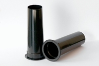 IT BR50SW, Basreflex pipe Ø40>50mm x 145mm, black