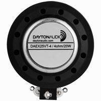 DAYTON AUDIO DAEX25VT-4, Thruster Exciter, 4 ohms