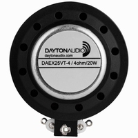 DAYTON AUDIO DAEX25VT-4, Thruster Exciter, 4 ohms