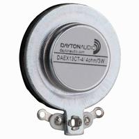 DAYTON AUDIO DAEX13CT-4, Coin Type 13mm Exciter 3W 4 Ohm