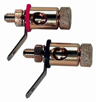 IT K11-27AU, Binding post pair, gold plated. Price/pair