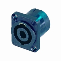 NEUTRIK NL4/MP/AU, Speakon inlet, 4-pole<br />Price per piece