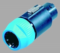 NEUTRIK NL8/FC, Speakon connector, 8-pole