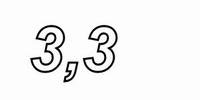 IT WIAL50/3.3, Power resistor, WW, aluminium case, 3,3Ω, 50W
