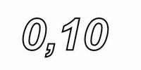 INTERTECHNIK WAX5, Ceramic WW resistor, 0,10Ω, 5 W, 5%