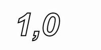 IT WAX20/1.00/5, Ceramic WW resistor, 1,0Ω , 20W, 5%