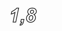 IT WAX20/1.80/5, Ceramic WW resistor, 1,8Ω , 20W, 5%