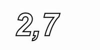 INTERTECHNIK WAX10, Keramische Drahtwiderstand, 2,7Ω , 10W,