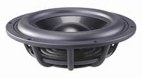 WAVECOR PR182BD01, 21cm passive radiator, black alu cone<br />Price per piece