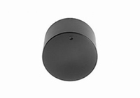MODU knob, 40mm, black<br />Price per piece