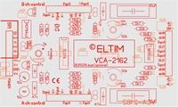 ELTIM VCA-2162, 2-channel VCA/buffer DIY kit