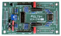 ELTIM VCA-2180A, 2-channel VCA/buffer DIY kit