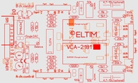 ELTIM VCA-2181A, 2-channel VCA/buffer DIY kit<br />Price per piece