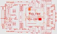 ELTIM VCA-2181A, 2-channel VCA/buffer DIY kit