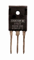 EXICON ECX10N20S, 8A/200V, 125W Mosfet, N-ch., TO247, select