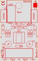 ELTIM BoutLin-2134, line > XLR balanced module, 0dB