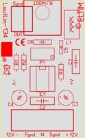 ELTIM Lout/Lin-1340, Linie zu Linie Puffer Modul, 0dB<br />Price per piece