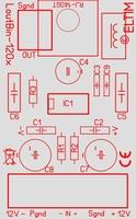 ELTIM Lout/Bin-1200, Linie > Balanziert Konverter Modul, 0dB<br />Price per piece