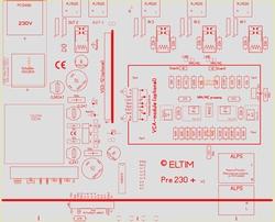 ELTIM Pre 230+, Compacte voorversterker module<br />Price per piece