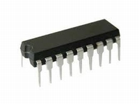 ULN2803A, 8-bit darlington transistor array, DIP18<br />Price per piece