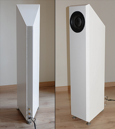 "ELTIM S614 ""Solo"", floorstanding Fullrange speaker kit, mkII<br />Price per pair"