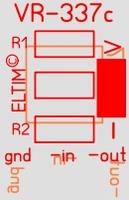 ELTIM VR-337c, negative voltage regulator module
