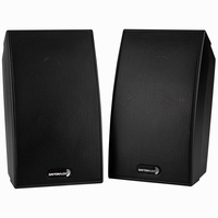 Dayton Audio SAT-BK, 2-Way Satellite Speaker Pair Black<br />Price per pair