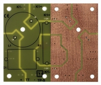 IT LP-S1 TP, Low-pass PCB, for small components, FR4<br />Price per piece