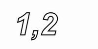 IT TRI55/1.2/0.50, Tritec aircoil, 1,2mH, OFC Ø0,5, R=0,39<br />Price per piece