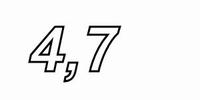 IT M200/4.70, MOX resistor, 4,7R, 2W, 1%