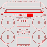 ELTIM PS-UN40S RQ LP, Power Supply +/-40V, 4A max.