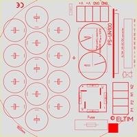 ELTIM PS-UN100RQ MLGO1, Power Supply module, 100V 15A max