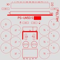 ELTIM PS-UN50S, ST, Power Supply +/-50V, 6A max.