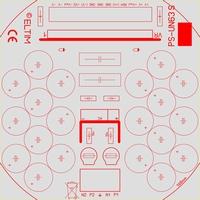 ELTIM PS-UN63S LP, Power Supply +/-63V, 10A max.