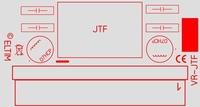 ELTIM VR-JTF12, Spannung Konverter/Regler Modul, 12W