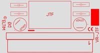 ELTIM VR-JTF12, Voltage converter/regulator module, 12W