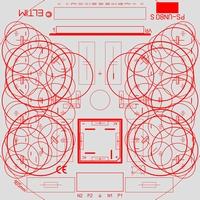 ELTIM PS-UN80S, Symmetrical Power Supply KIT, ±25A max