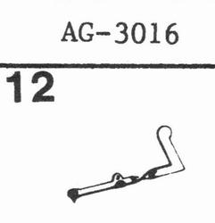 PHILIPS AG-3016, GP-316 Stylus, SS
