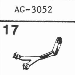 PHILIPS AG-3052, 5001 Stylus, sapphire normal (78rpm) + sapp