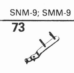 ELAC SNM-9, styluS, sapphire normal (78rpm) + sapphire stere