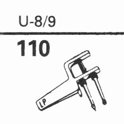 EUPHONICS U-8/9 Stylus, sapphire normal (78rpm) + sapphire s