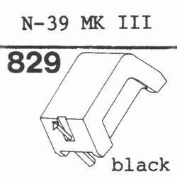 KENWOOD N-39 MK III stylus, diamond, stereo