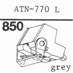 AUDIO TECHNICA ATN-770 L stylus, diamond, stereo ORIGINAL