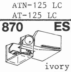 AUDIO TECHNICA ATN-125 LC, stylus ES, ORIGINAL